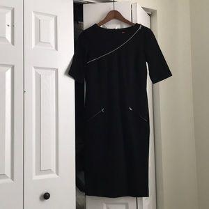 Black long dress betsey johnson